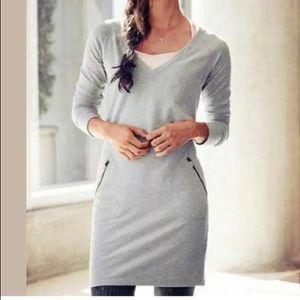 Athleta Enchanted Sweatshirt Dress